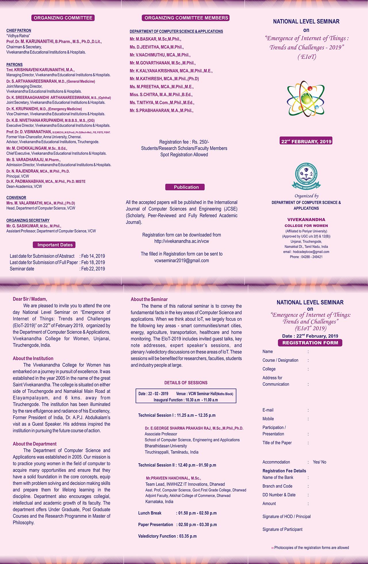 Vivekanandha College for Women